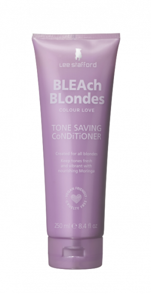 Lee Stafford Bleach Blondes Conditioner - kondicionér na blond vlasy, 250 ml