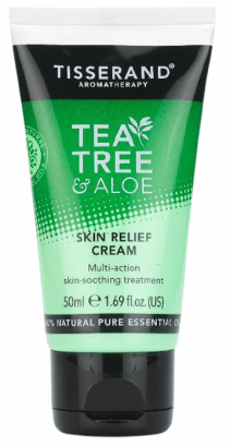 Tisserand Tea Tree & Aloe Vera pleťový krém, 50 ml