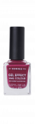 KORRES Gel-Effect Nail Colour - gelový lak na nehty, 74 Berry Addict, 11 ml