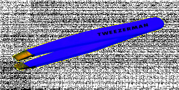Tweezerman Slant Mini Lovely Lavender pinzeta levandulová