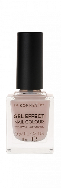 KORRES Gel-Effect Nail Colour - gelový lak na nehty,31 Sandy Nude, 11 ml
