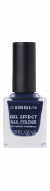 KORRES Gel-Effect Nail Colour - gelový lak na nehty, 88 Steel Blue, 11 ml