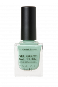 KORRES Gel-Effect Nail Colour - gelový lak na nehty, 35 Mint Green, 11 ml