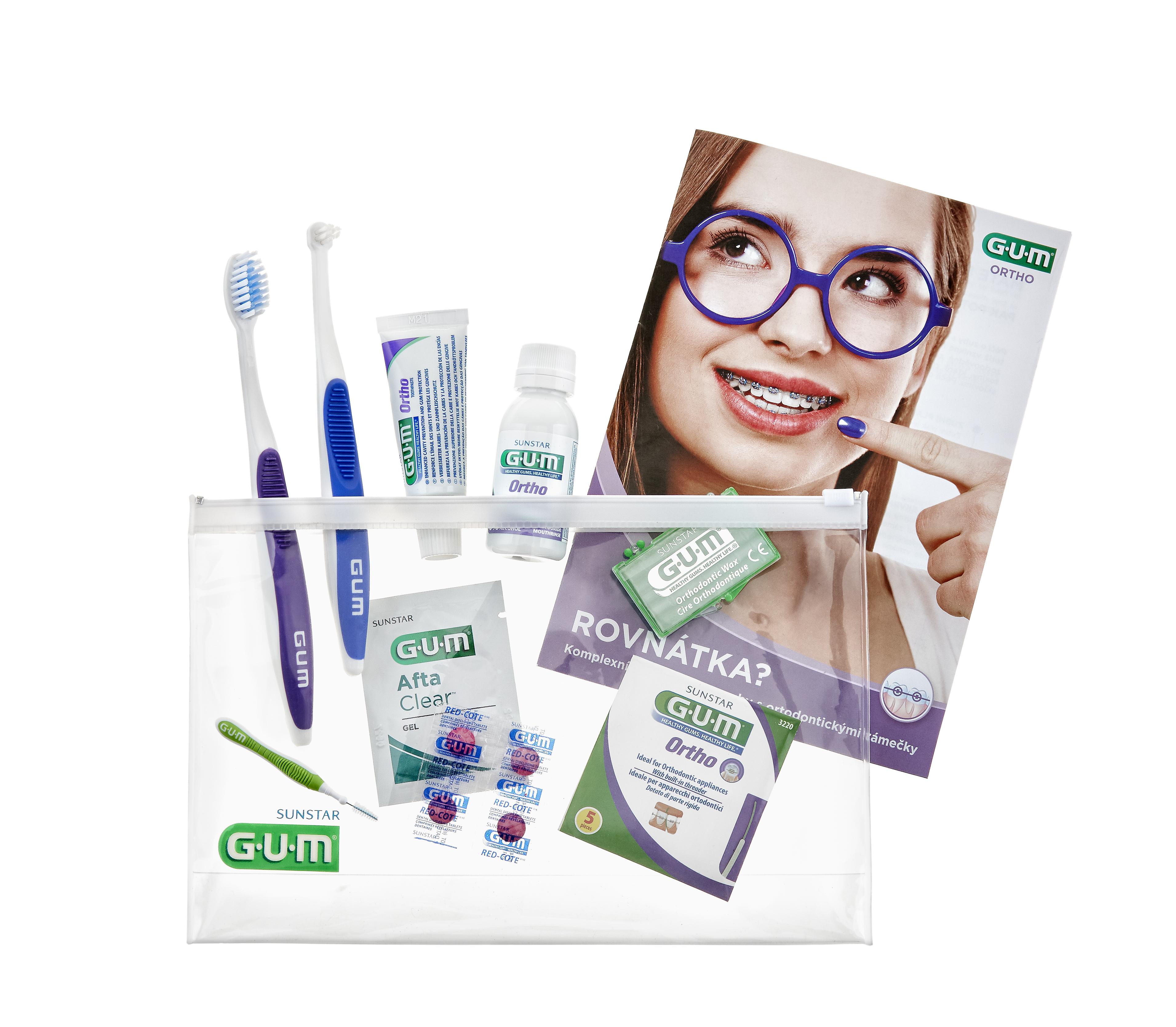 Sada pro zuby - základní sada pro péči o rovnátka