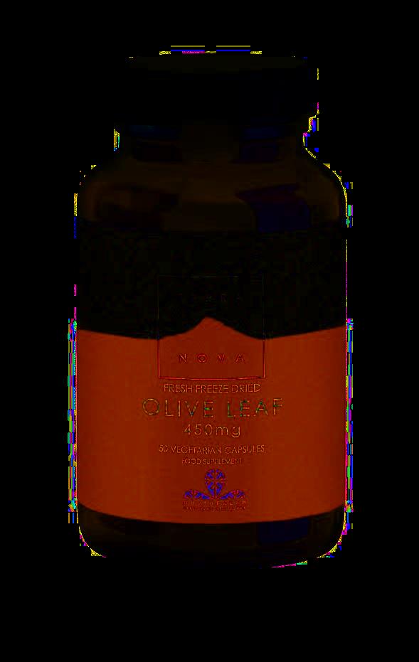 Terranova List olivovníku 450 mg 50 kapslí