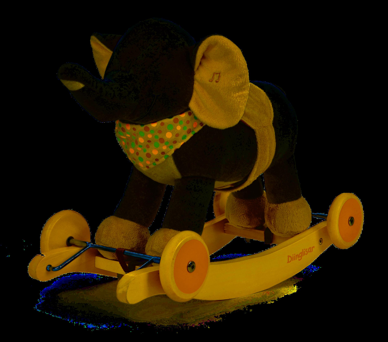 Teddykompaniet Diinglisar - houpací slon, 18m+