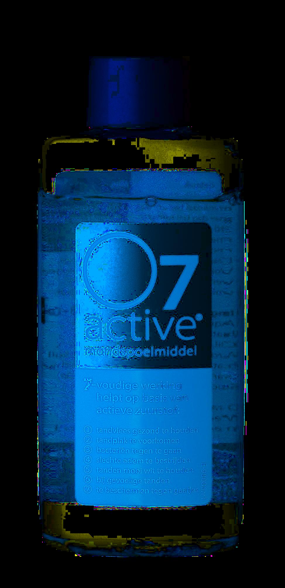 O7 Active ústní voda (výplach), cestovní balení, 60 ml