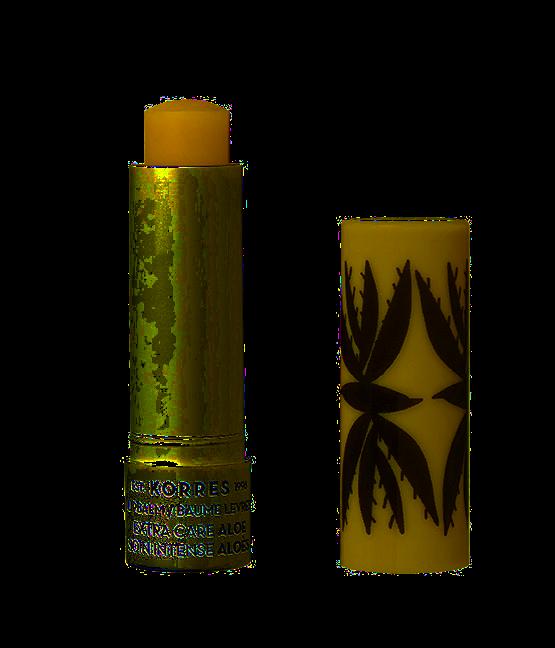 KORRES Aloe Extra Care Lip Balm - extra pečující balzám na rty v tyčince s aloe, 5 ml