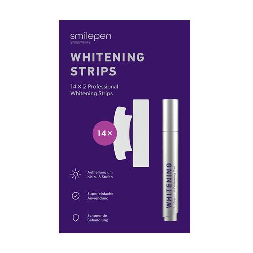Smilepen Whitening Strips, sada bělicích pásek a gelového pera