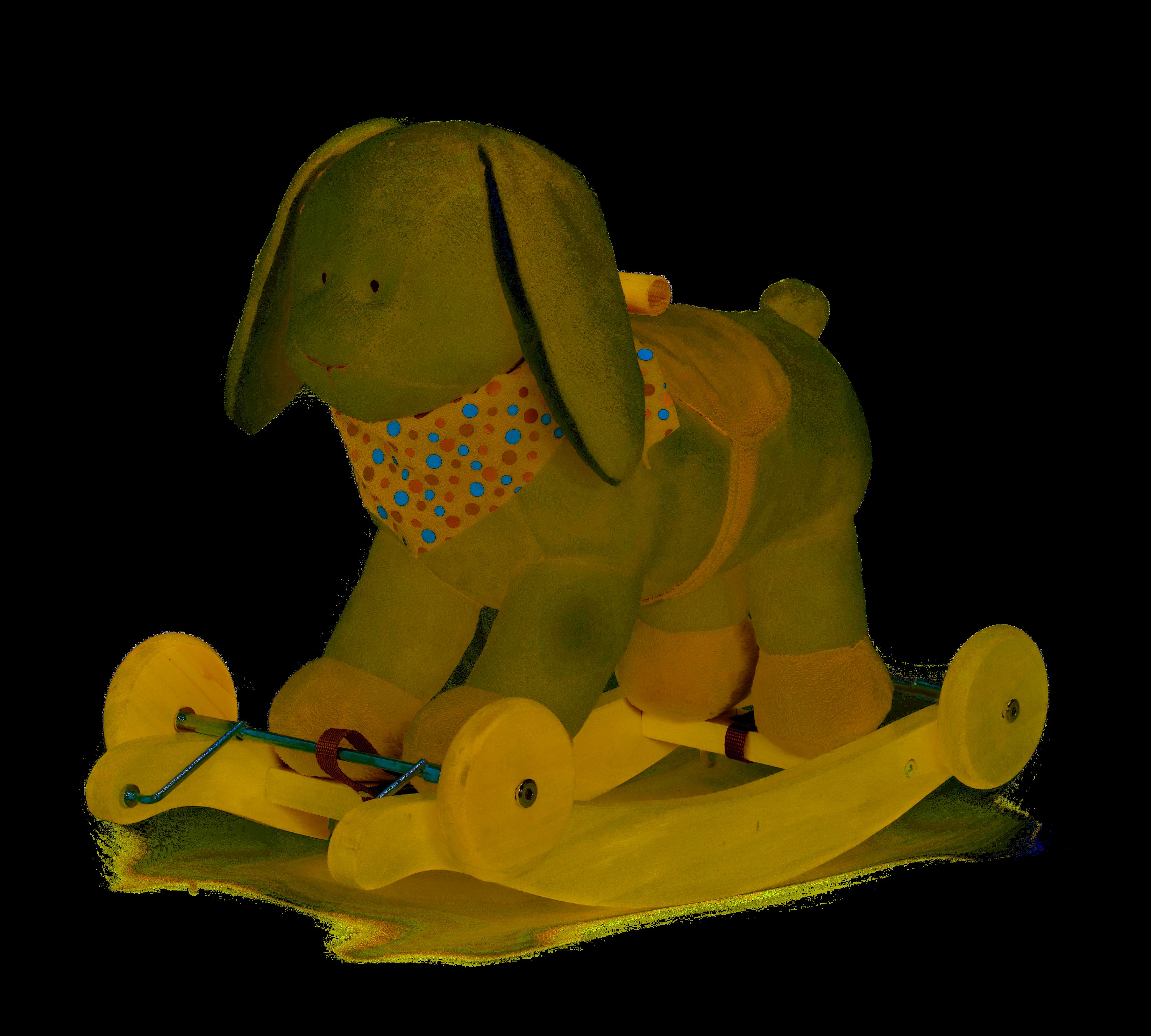 Teddykompaniet Diinglisar - houpací králík, 18m+
