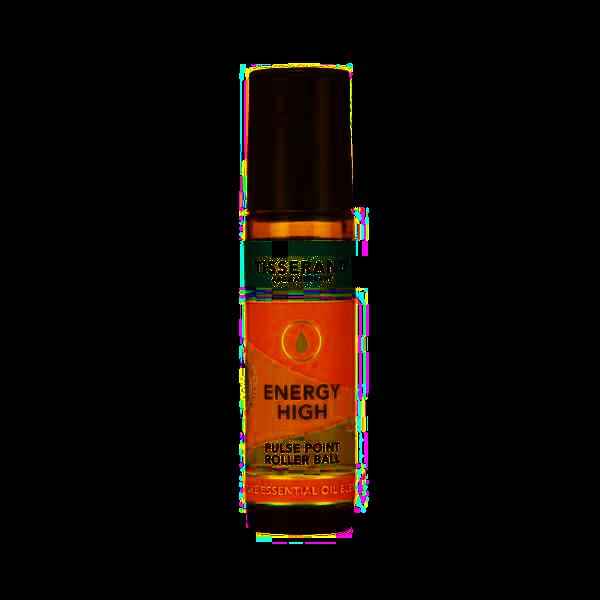 Tisserand Energy High směs olejů v kuličce pro dodání energie, 10 ml