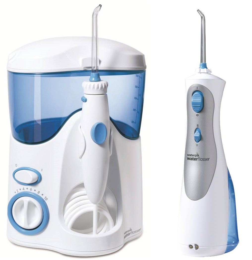 Waterpik akční sada 2 ústních sprch (WP100E + WP450)